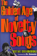 The Golden Age of Novelty Songs Book