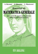 Esercizi di Matematica Generale