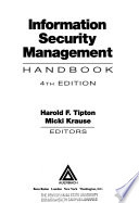 Information Security Management Handbook, Fourth Edition, Volume I