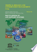 Tropical Biology and Conservation Management - Volume VIII