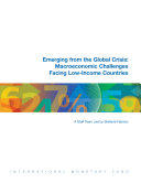 Emerging From The Global Crisis Macroeconomic Challenges Facing Low Income Countries