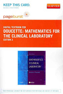 Mathematics for the Clinical Laboratory Passcode