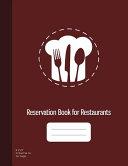 Reservation Book for Restaurants