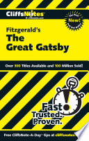 CliffsNotes on Fitzgerald s The Great Gatsby
