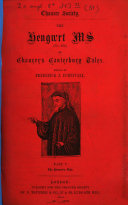 Pdf ¬The Hengwrt Ms of Chaucer's Canterbury Tales