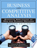 Business and Competitive Analysis Book PDF