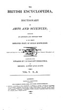 Pdf The British Encyclopedia, Or Dictionary of Arts and Sciences