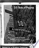 50 Years of Progress 1912/1962