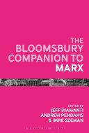 The Bloomsbury Companion to Marx Pdf
