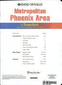 Thomas Guide 2001 Metropolitan Phoenix Area