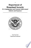 Department of Homeland Security Appropriations for 2014 Book