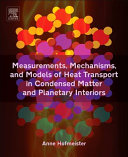 Measurements, Mechanisms, and Models of Heat Transport in Condensed Matter and Planetary Interiors