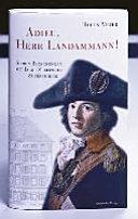 Adieu, Herr Landammann!