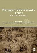 Manager subordinate Trust