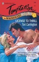 License to Thrill  Mills   Boon Temptation