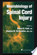 Neurobiology Of Spinal Cord Injury Book PDF