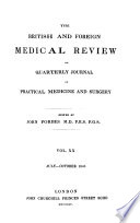 The British And Foreign Medical Review