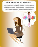 Blog Marketing for Beginners ebook
