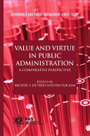 Value and Virtue in Public Administration Pdf/ePub eBook
