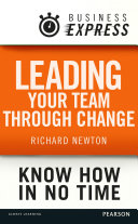 Business Express  Leading your team through change