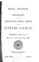 Proceedings Of The Annual Session Of The Supreme Council
