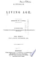 Littell s Living Age Book