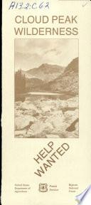 Cloud Peak Wilderness Book