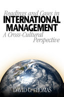 Readings and cases in international management