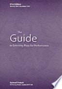 The Guide to Selecting Plays for Performance