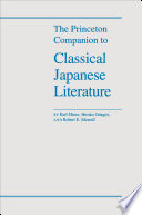The Princeton Companion to Classical Japanese Literature