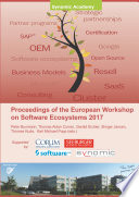 Proceedings of the European Workshop on Software Ecosystems 2017