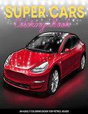 Super Cars Coloring Book
