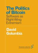 Pdf The Politics of Bitcoin Telecharger