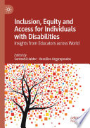 Inclusion  Equity and Access for Individuals with Disabilities