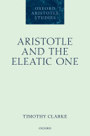 Aristotle and the Eleatic One