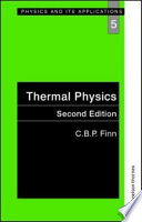 Thermal Physics  Second Edition Book