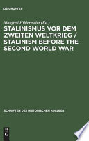 Stalinism before the Second World War