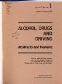 Alcohol  Drugs  and Driving