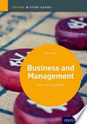 Business and Management: IB Study Guide