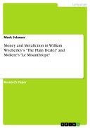 Pdf Money and Metafiction in William Wycherley's