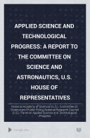 Applied Science and Technological Progress
