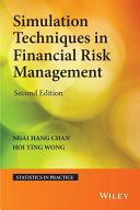Pdf Simulation Techniques in Financial Risk Management Telecharger