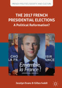 Pdf The 2017 French Presidential Elections Telecharger