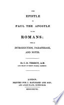 Epistle of Paul the Apostle to the Romans