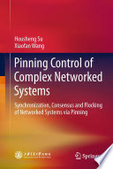 Pinning Control Of Complex Networked Systems