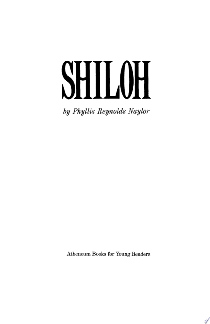 Shiloh banner backdrop