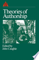 Theories of Authorship Book