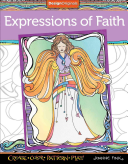 Expressions of Faith Coloring Book: Create, Color, Pattern, ...