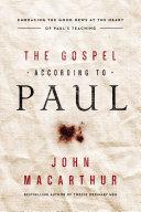 The Gospel According to Paul Pdf/ePub eBook