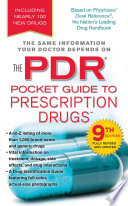 """PDR Pocket Guide to Prescription Drugs, 9th Edition"" by Pocket Books"